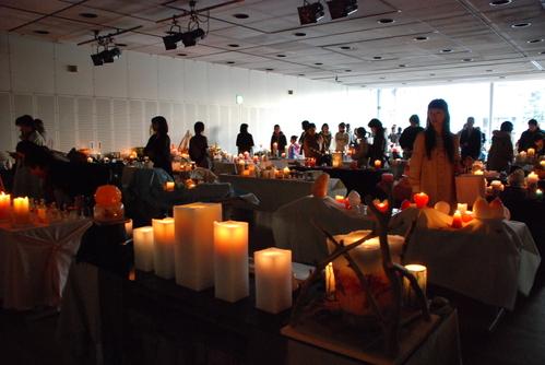 2008 蝋の灯り展 会場