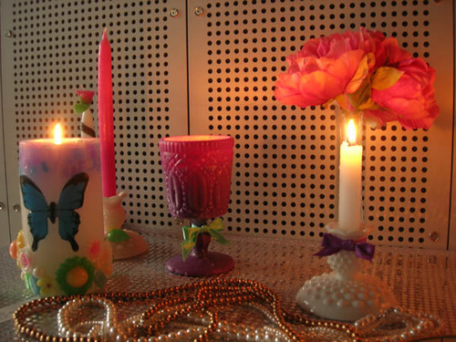 30_花と蝶と宝石と1
